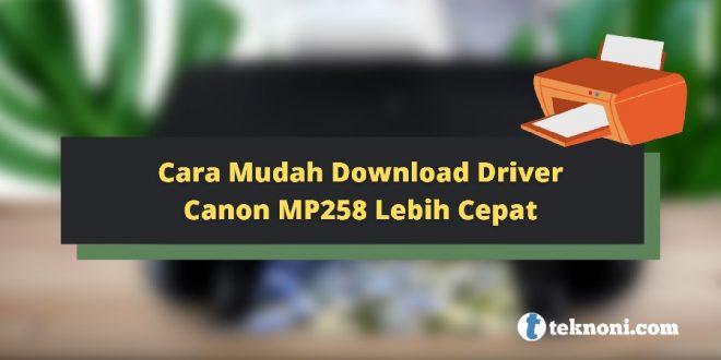 Driver Canon MP258