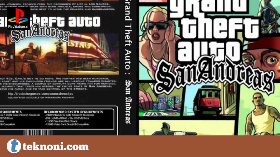 Game PS2 Terbaik: GTA San Andreas 2004