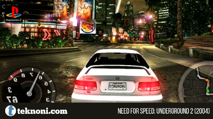 Game PS2 Terbaik: Need for Speed Underground 2 2004