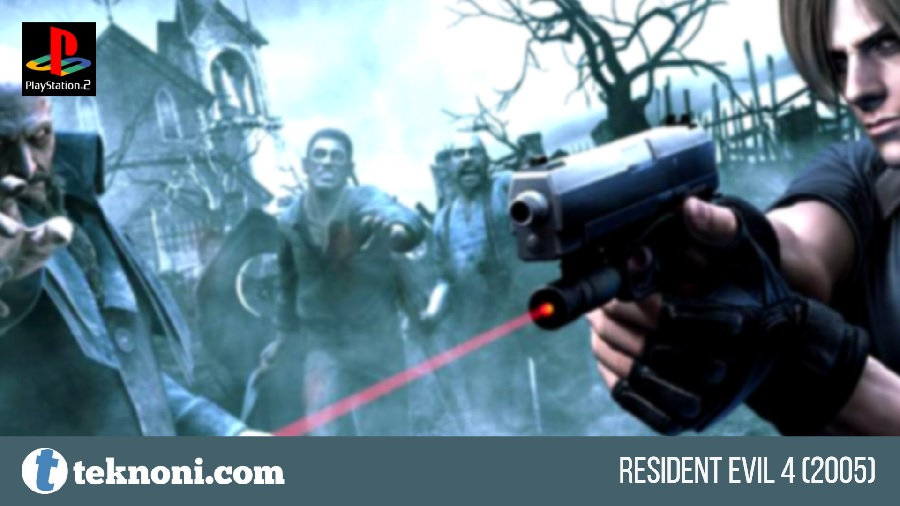 Game PS2 Terbaik: Resident Evil 4 2005
